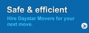 Safe & efficient | Hire Daystar Movers for your next move.